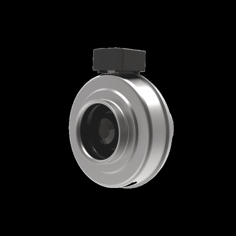 Centrifugal Inline Duct Fan, Inline Fans - Moduflow Fan Systems