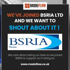 We've joined BSRIA Ltd and We Want to Shout About It!